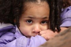 SAD barn Arkivfoto