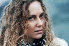 Sad beautiful woman Royalty Free Stock Image