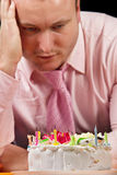 Sad birthday Royalty Free Stock Photo