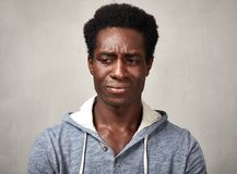 Sad black man Royalty Free Stock Photography