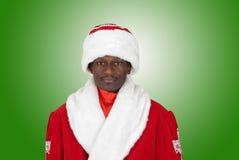 Sad black santa Royalty Free Stock Images