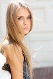 Sad Blonde Royalty Free Stock Image