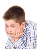 Sad boy Royalty Free Stock Photos
