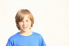 Sad boy Stock Photography