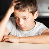 Sad boy Stock Photography