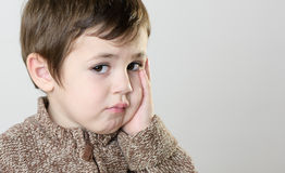 Sad boy Royalty Free Stock Photo