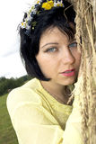 Sad brunette Stock Photography