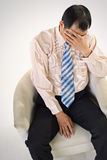 Sad business man Stock Photography