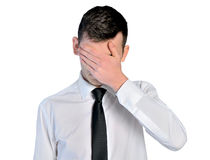 Sad business man Stock Photo