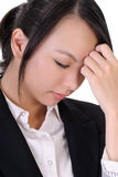 Sad business woman Royalty Free Stock Images