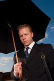 Sad businessman Royalty Free Stock Images