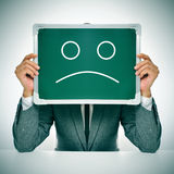 Sad businessman Royalty Free Stock Image
