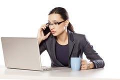 Sad businesswoman Royalty Free Stock Image