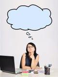 Sad businesswoman Stock Photos