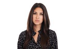 Sad businesswoman portrait Stock Photography