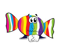 Sad Candy cartoon Royalty Free Stock Image