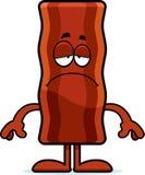 Sad Cartoon Bacon Strip Stock Photos