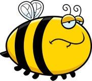 Sad Cartoon Bee Royalty Free Stock Photography