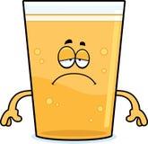 Sad Cartoon Beer Royalty Free Stock Photos