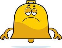 Sad Cartoon Bell Stock Image