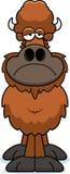 Sad Cartoon Buffalo Royalty Free Stock Image