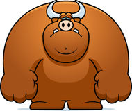 Sad Cartoon Bull Royalty Free Stock Image