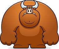 Sad Cartoon Bull Royalty Free Stock Image