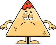 Sad Cartoon Chips and Salsa Stock Photos