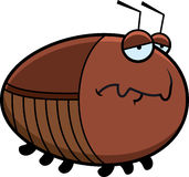 Sad Cartoon Cockroach Stock Photos