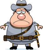 Sad Cartoon Confederate Soldier Stock Photos