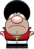 Sad Cartoon Disco Guy Royalty Free Stock Images