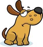 Sad Cartoon Dog Royalty Free Stock Photos