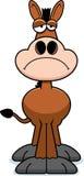 Sad Cartoon Donkey Royalty Free Stock Photography