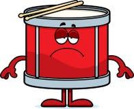 Sad Cartoon Drum Stock Photos
