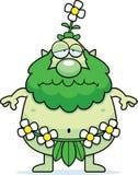 Sad Cartoon Forest Sprite Stock Photos