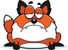 Sad Cartoon Fox Stock Photos