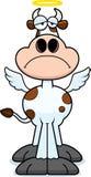 Sad Cartoon Holy Cow Stock Photo