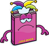 Sad Cartoon Joke Book Stock Photo