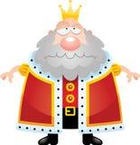 Sad Cartoon King Stock Photos