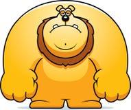 Sad Cartoon Lion Royalty Free Stock Photography