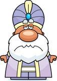 Sad Cartoon Maharaja Royalty Free Stock Photography