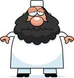 Sad Cartoon Muslim Royalty Free Stock Photo