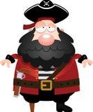 Sad Cartoon Pirate Royalty Free Stock Photography