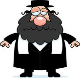 Sad Cartoon Rabbi Stock Photos