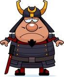 Sad Cartoon Samurai Stock Images