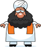 Sad Cartoon Sikh Stock Images