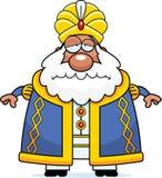 Sad Cartoon Sultan Stock Image