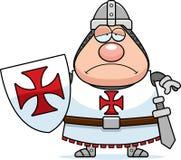 Sad Cartoon Templar Stock Photos