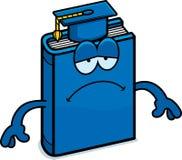 Sad Cartoon Textbook Stock Images