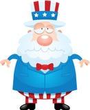 Sad Cartoon Uncle Sam Royalty Free Stock Photos